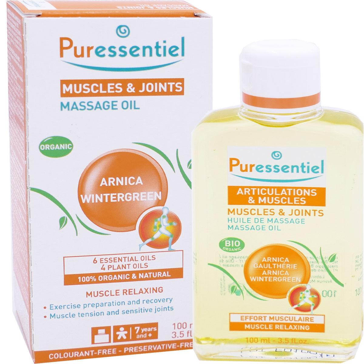Puressentiel huile de massage articulations & muscles 100ml