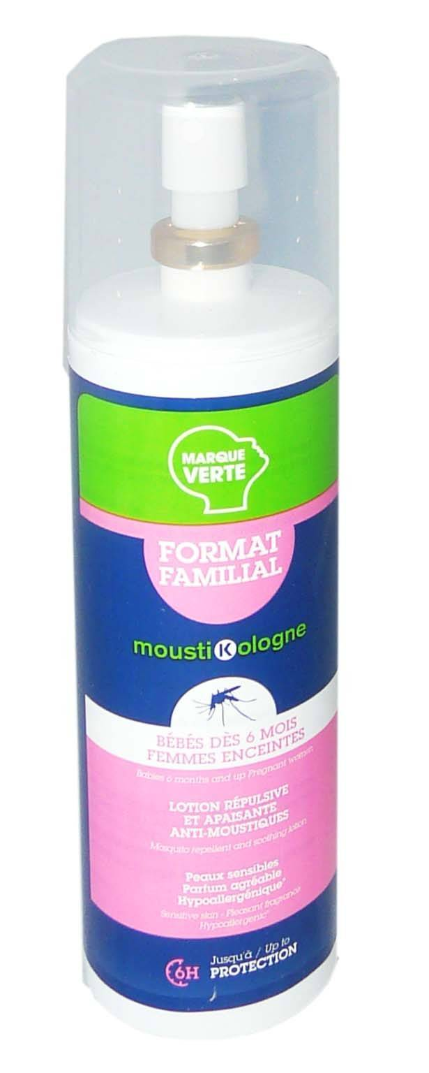 Mousti kologne anti-moustiques bebes/femmes enceintes 250ml