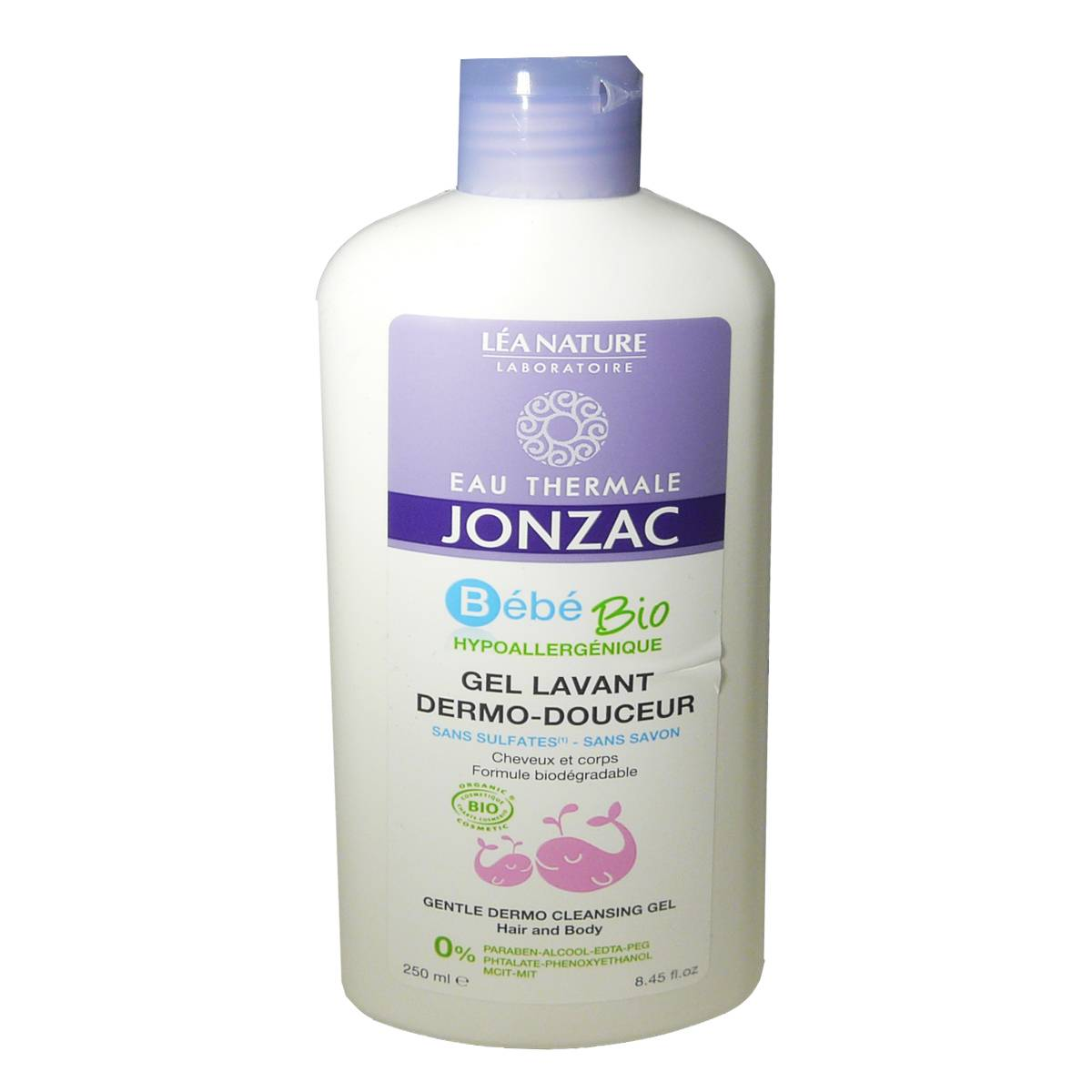 Jonzac bebe bio gel lavant 250 ml bio