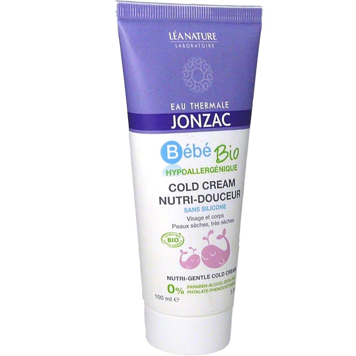 Jonzac bebe bio cold cream nutri-douceur 100ml