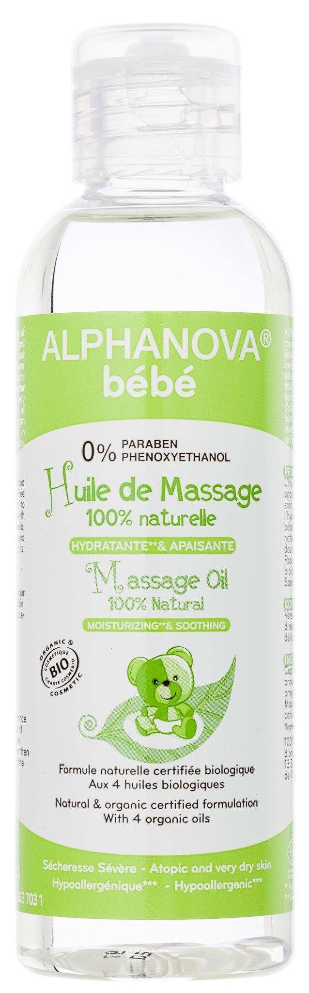 Alphanova bebe huile de massage 100ml