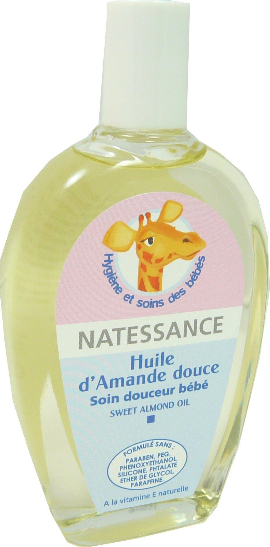 Natessance huile d'amande douce 100ml