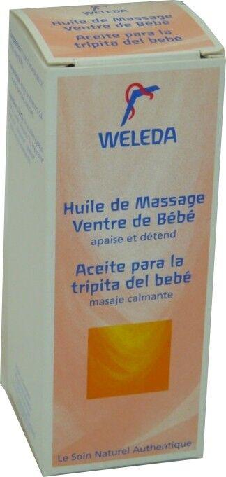 Weleda huile de massage ventre de bebe 50 ml