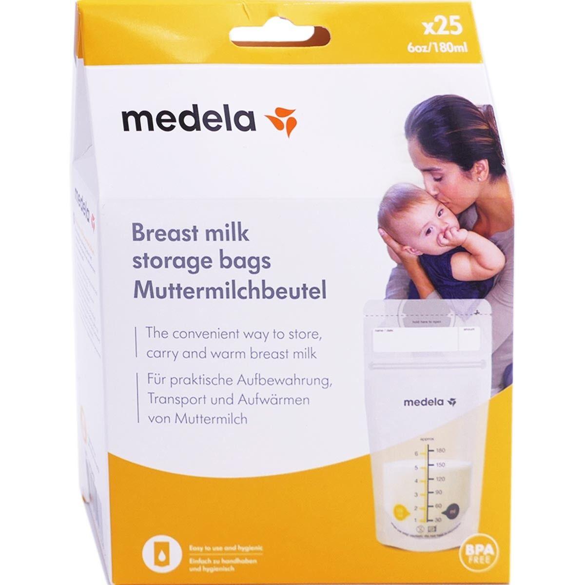 Medela sachets de conservation lait maternel 180ml x25