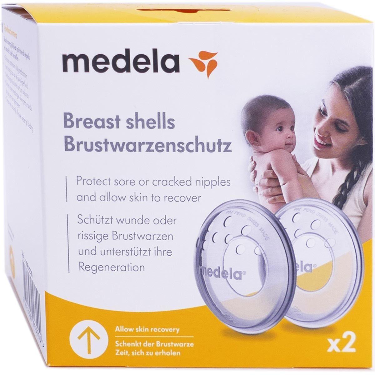 Medela coquille d'allaitement x2