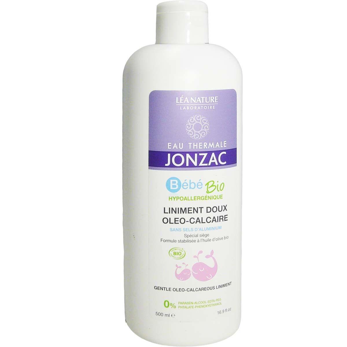 Jonzac bebe bio liniment doux oleo-calcaire 500ml