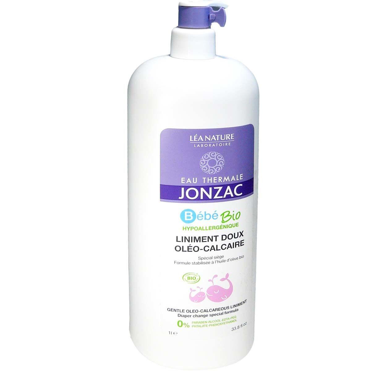 Jonzac bebe bio liniment doux oleo-calcaire 1l