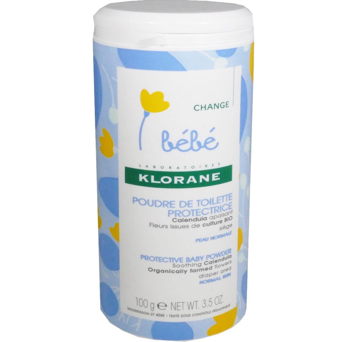 Klorane poudre de toilette protectrice 100 g change