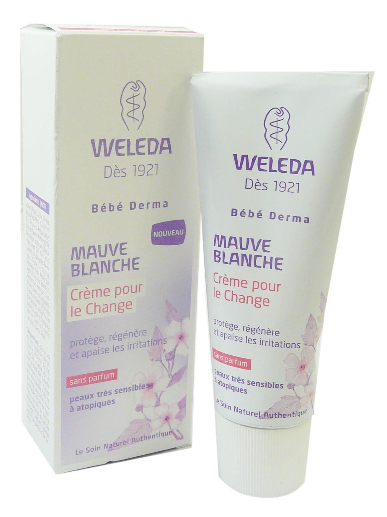 Weleda bb berma mauve blanche creme pour le change 50ml