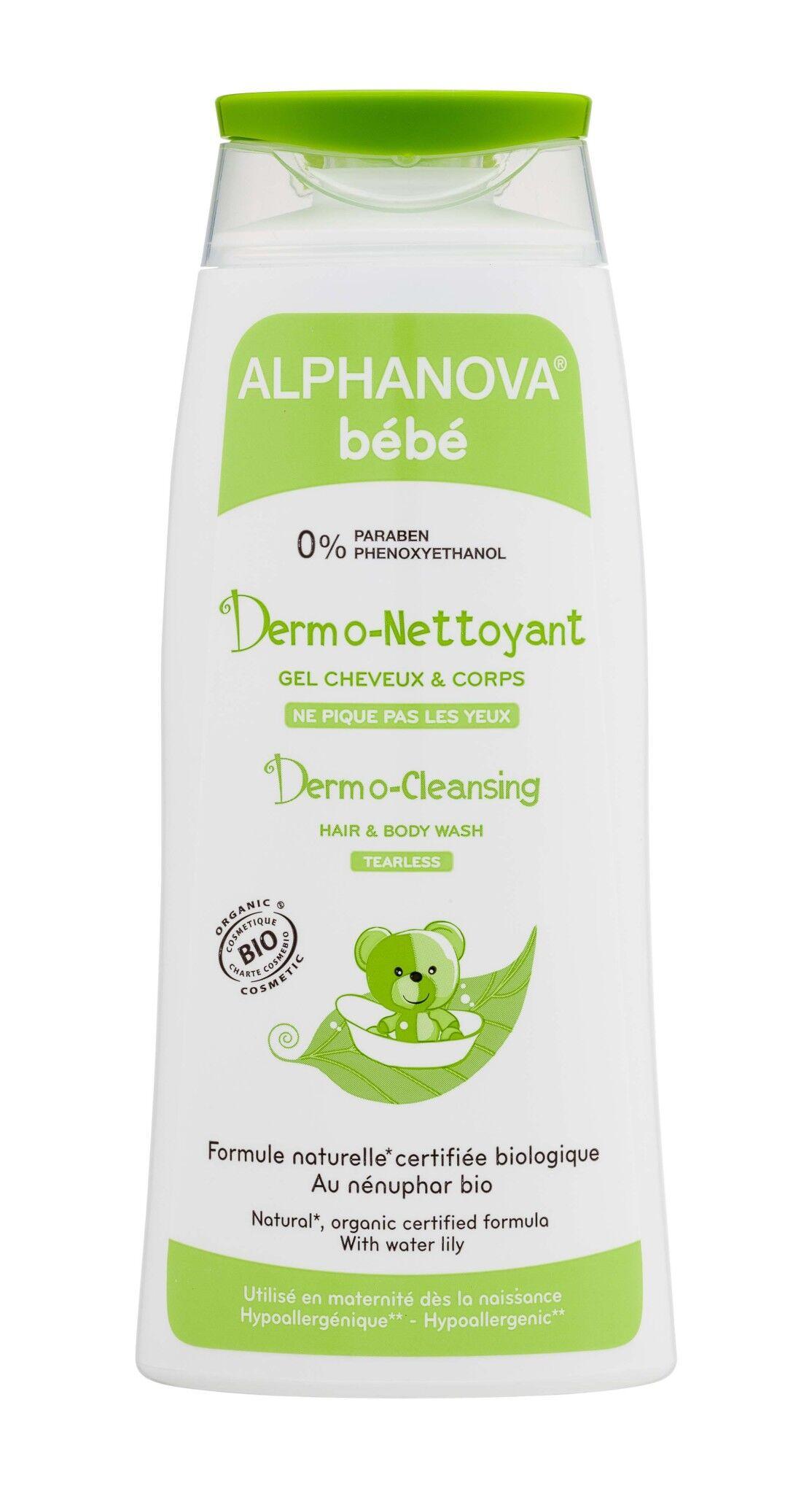 Alphanova bebe dermo nettoyant cheveux & corps 200ml