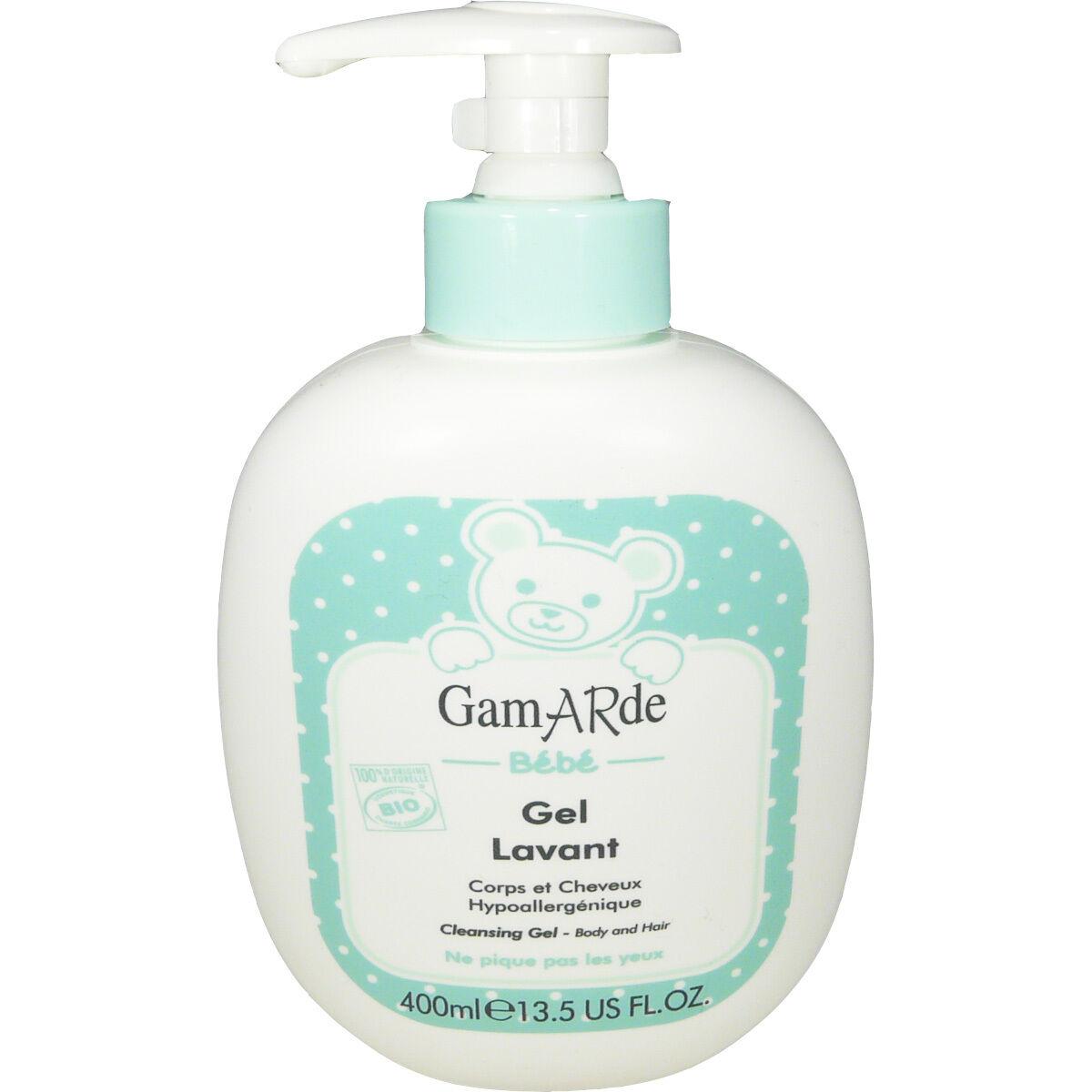 Gamarde bebe gel lavant 400 ml corps et cheveux
