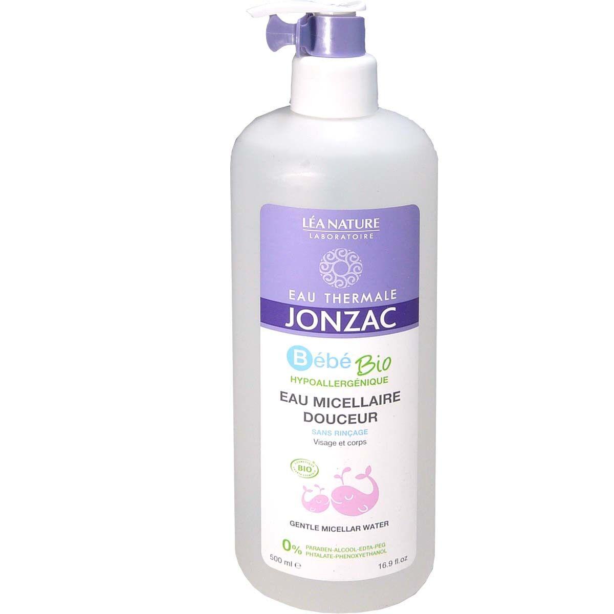 Jonzac bebe bio eau micellaire douceur 500 ml
