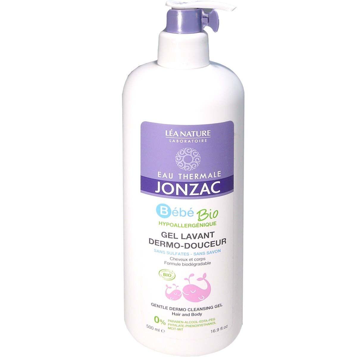 Jonzac bebe bio gel lavant dermo-douceur 500 ml
