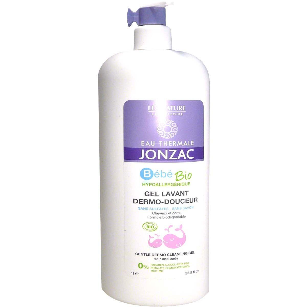 Jonzac bebe bio gel lavant dermo-douceur 1l