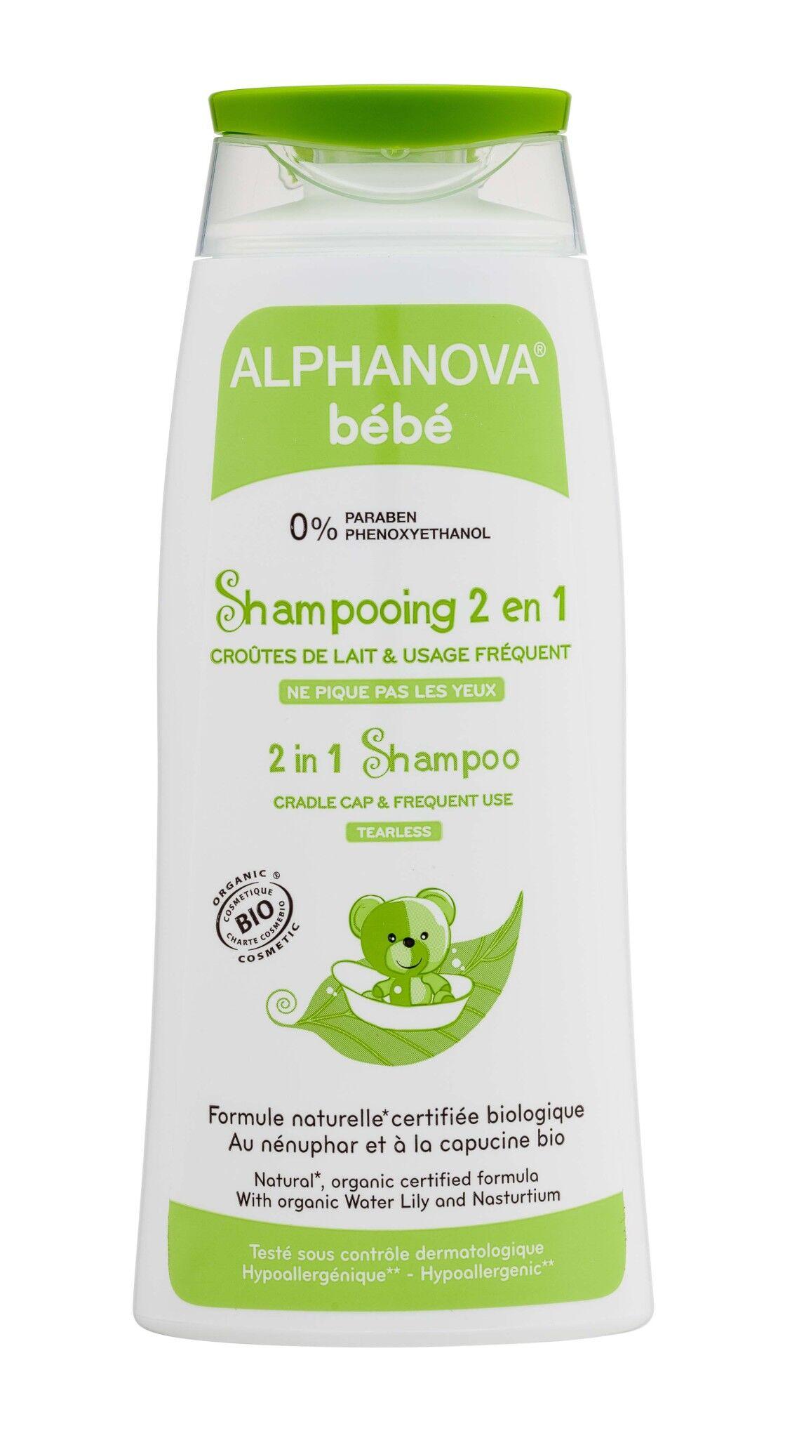 Alphanova shampooing 2 en 1 200ml
