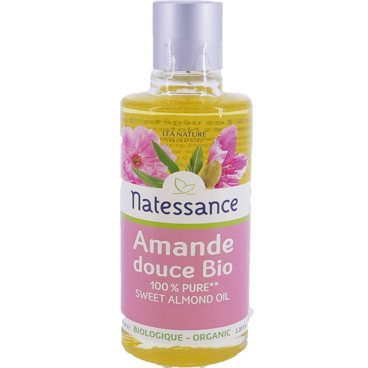 Natessance huile d'amande douce bio 100 ml