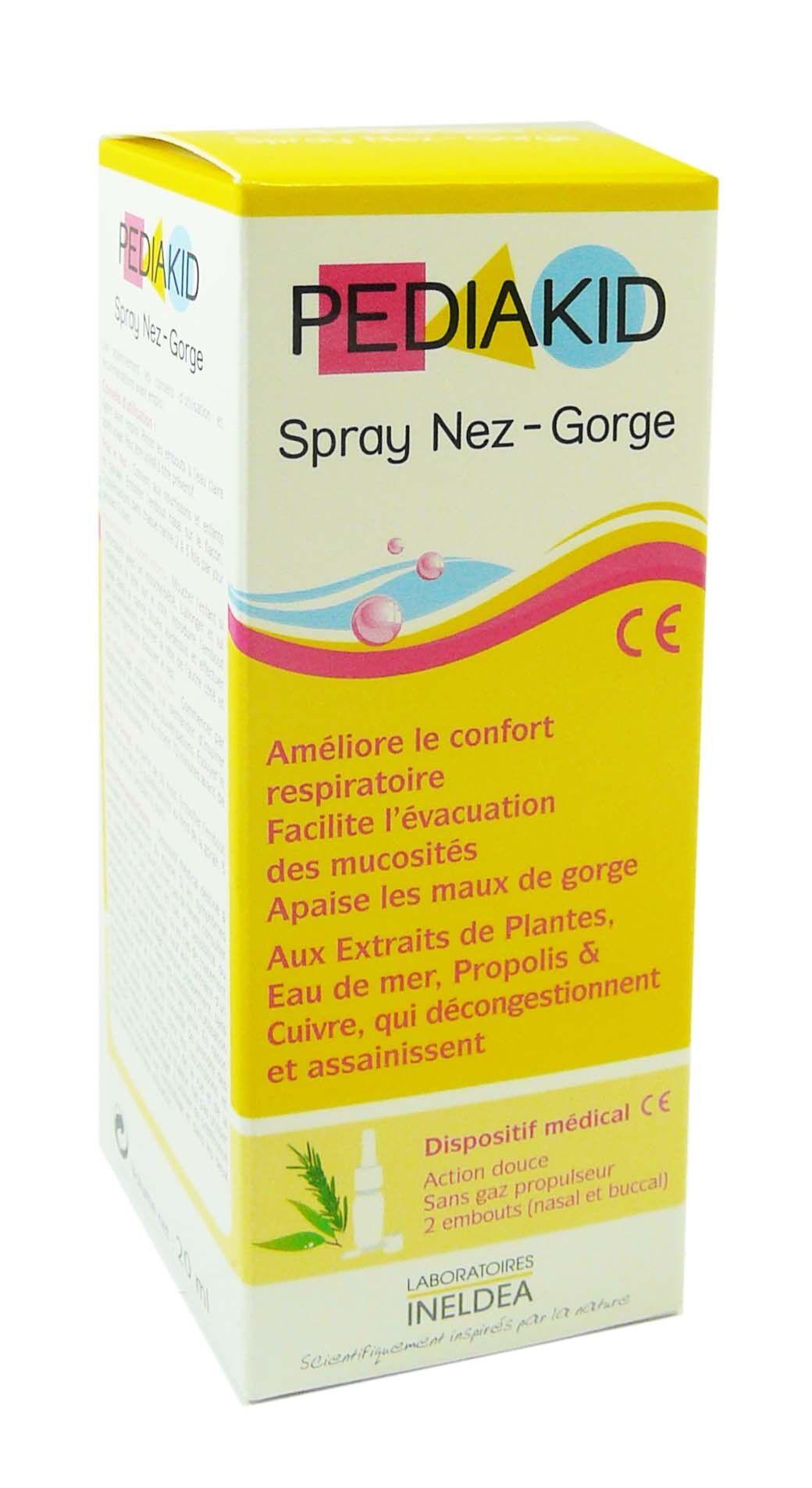 Pediakid spray nez-gorge 20ml