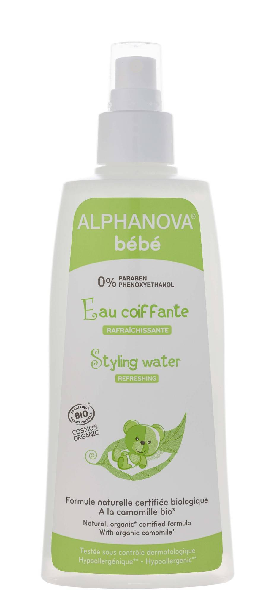 Alphanova bebe eau coiffante 200ml