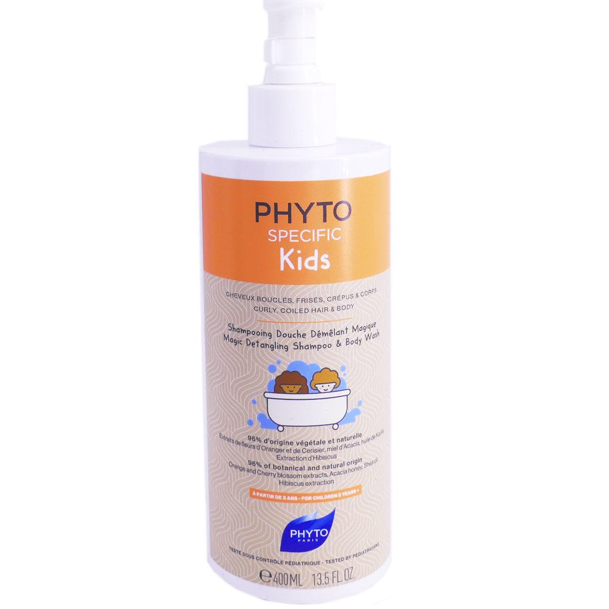 PHYTOSOLBA Phytospecific kids shampooing douche demelant 400ml