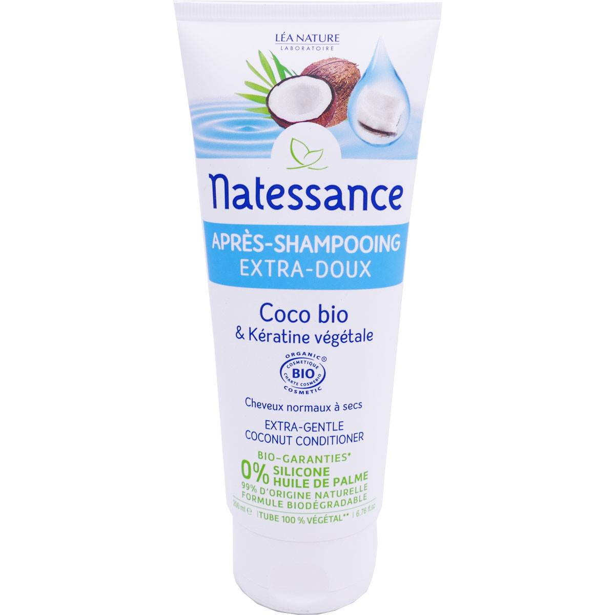 Natessance apres shampooing coco bio 200 ml