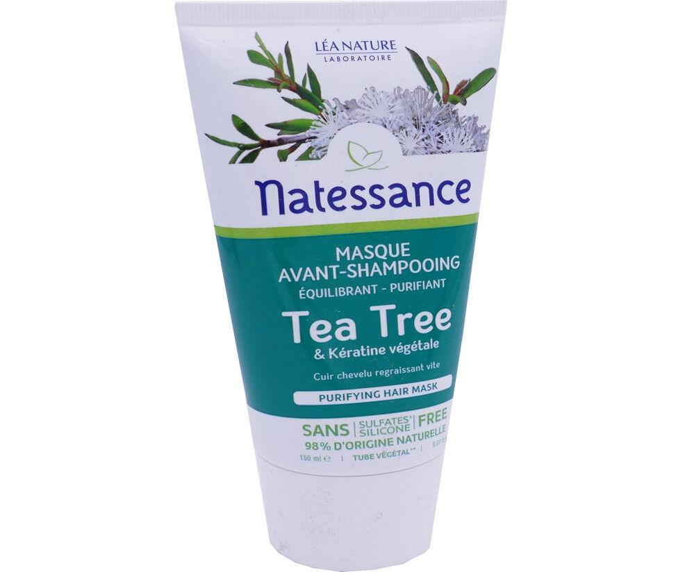 Natessance tea tree masque 150 ml keratine vegetale