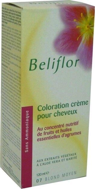 Beliflor coloration creme 07 blond moyen 120 ml