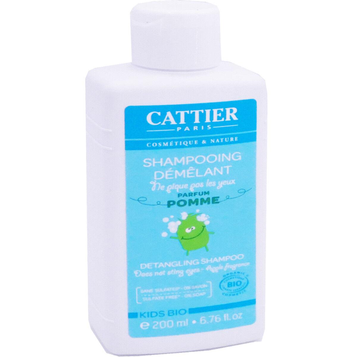 Cattier shampooing dÉmÊlant parfum pomme 200 ml