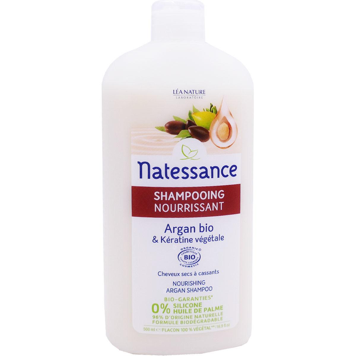 Natessance shampooing argan bio 500 ml