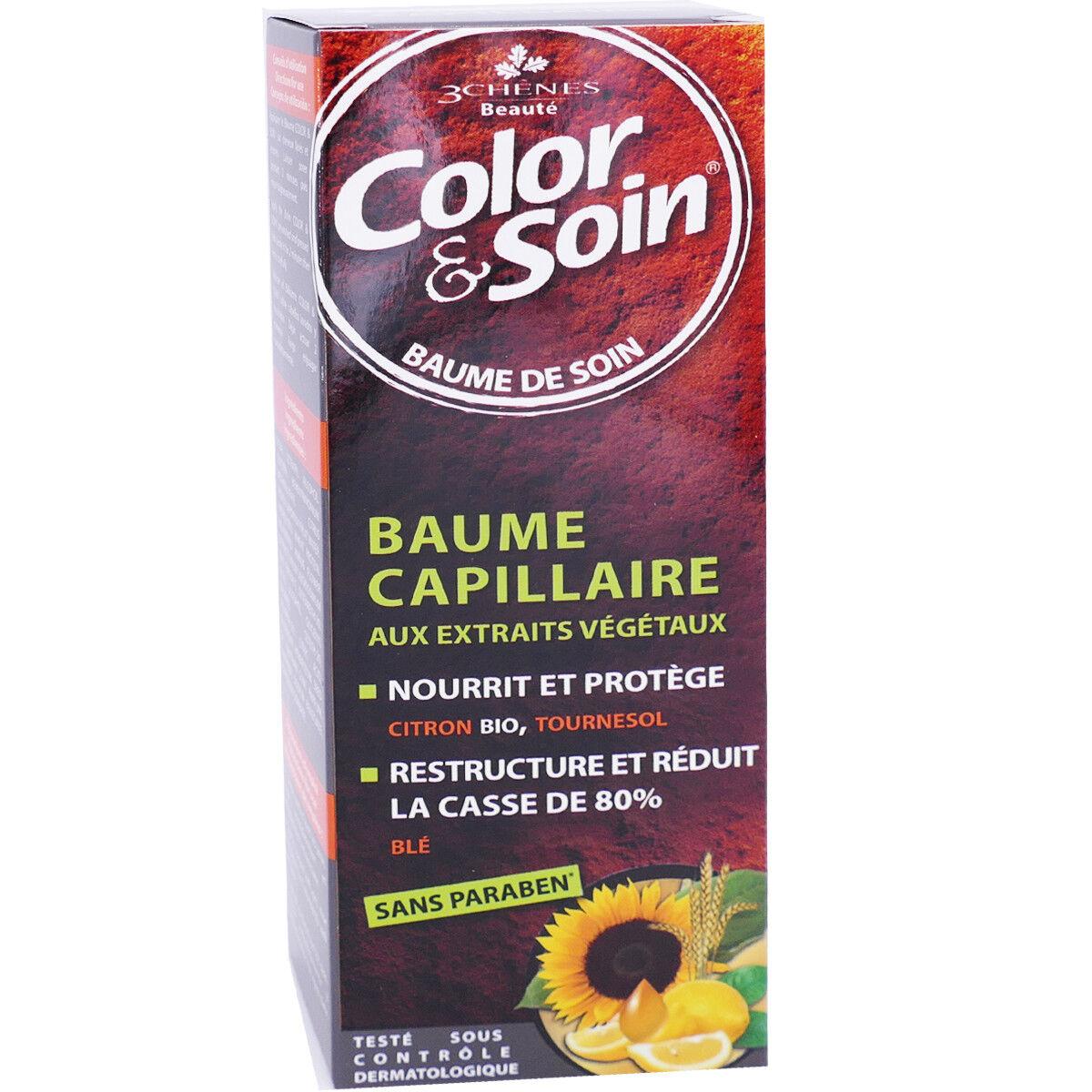 LES 3 CHENES 3 chenes baume capillaire citron bio tournesol 250ml