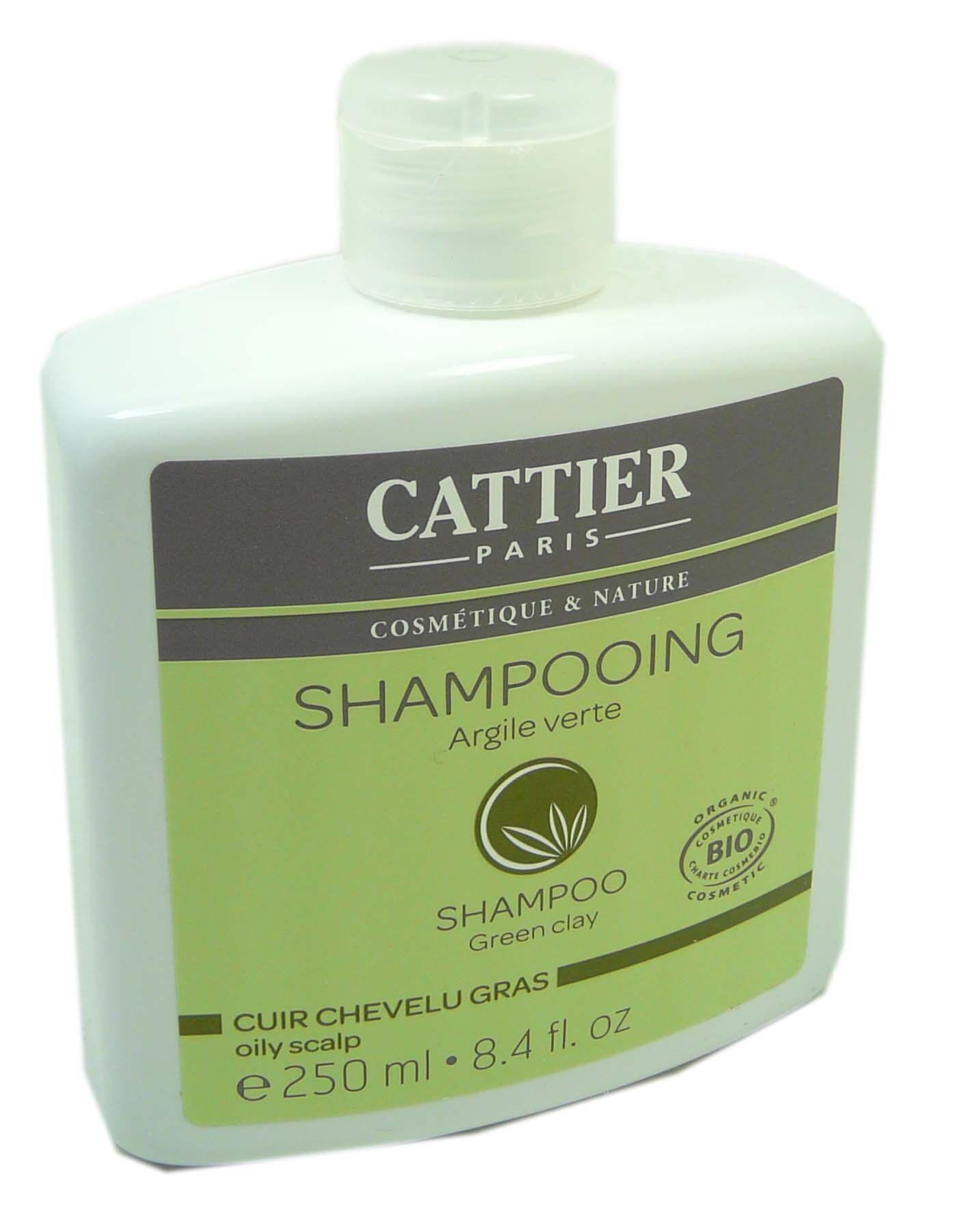 Cattier shampooing argile verte 250ml