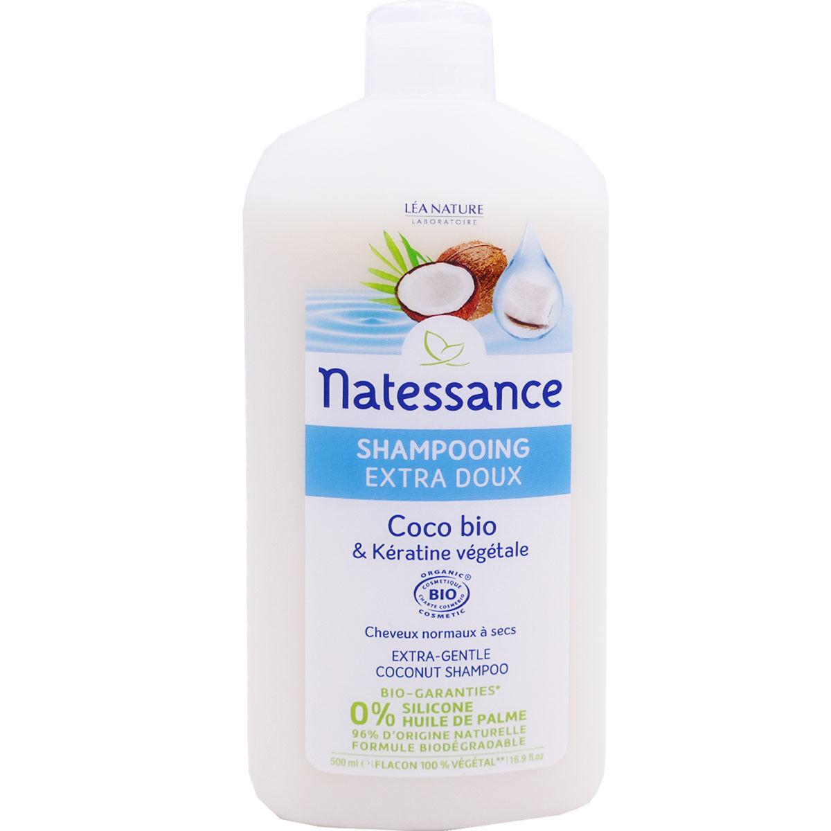 Natessance shampooing coco bio 500 ml