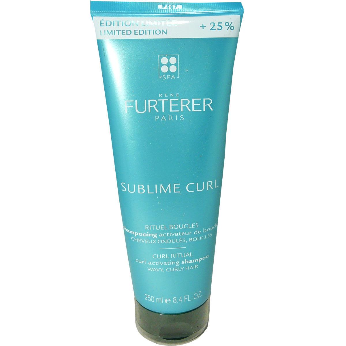 RENE FURTERER Nsfp furterer sublime curl shampooing 250 ml cheveux ondules