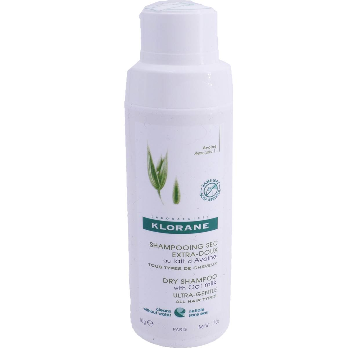 Klorane shampooing sec extra doux 50g