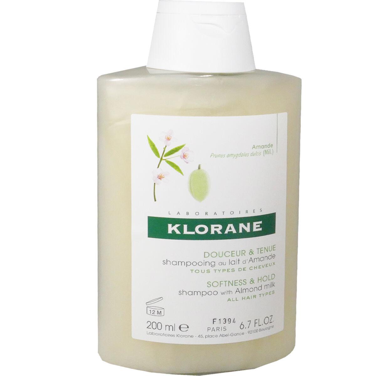 Klorane shampooing lait d'amande douceur 200 ml