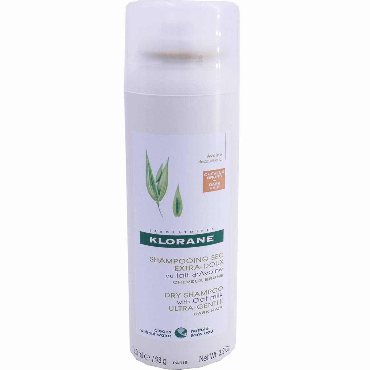 Klorane shampooing sec 150 ml cheveux brun