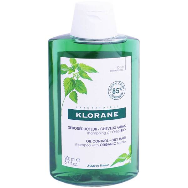Klorane shampooing seboreducteur ortie bio 200ml