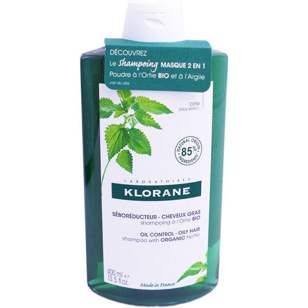 Klorane shp seboregulateur a l'ortie bio 400ml