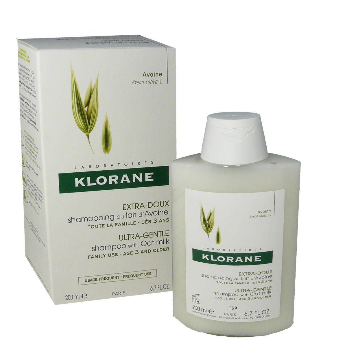 Klorane extra-doux au lait d'avoine 200 ml