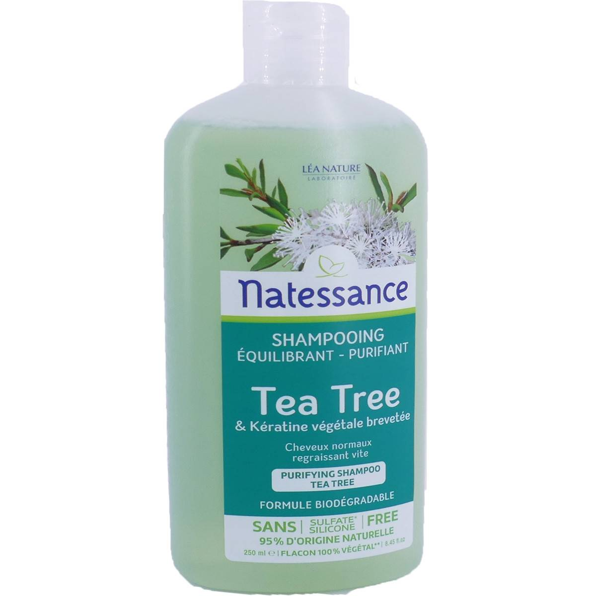 Natessance shampooing tea tree 250 ml