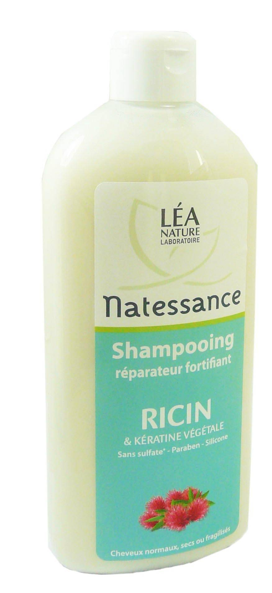 Natessance shampooing reparateur huile de ricin 500ml