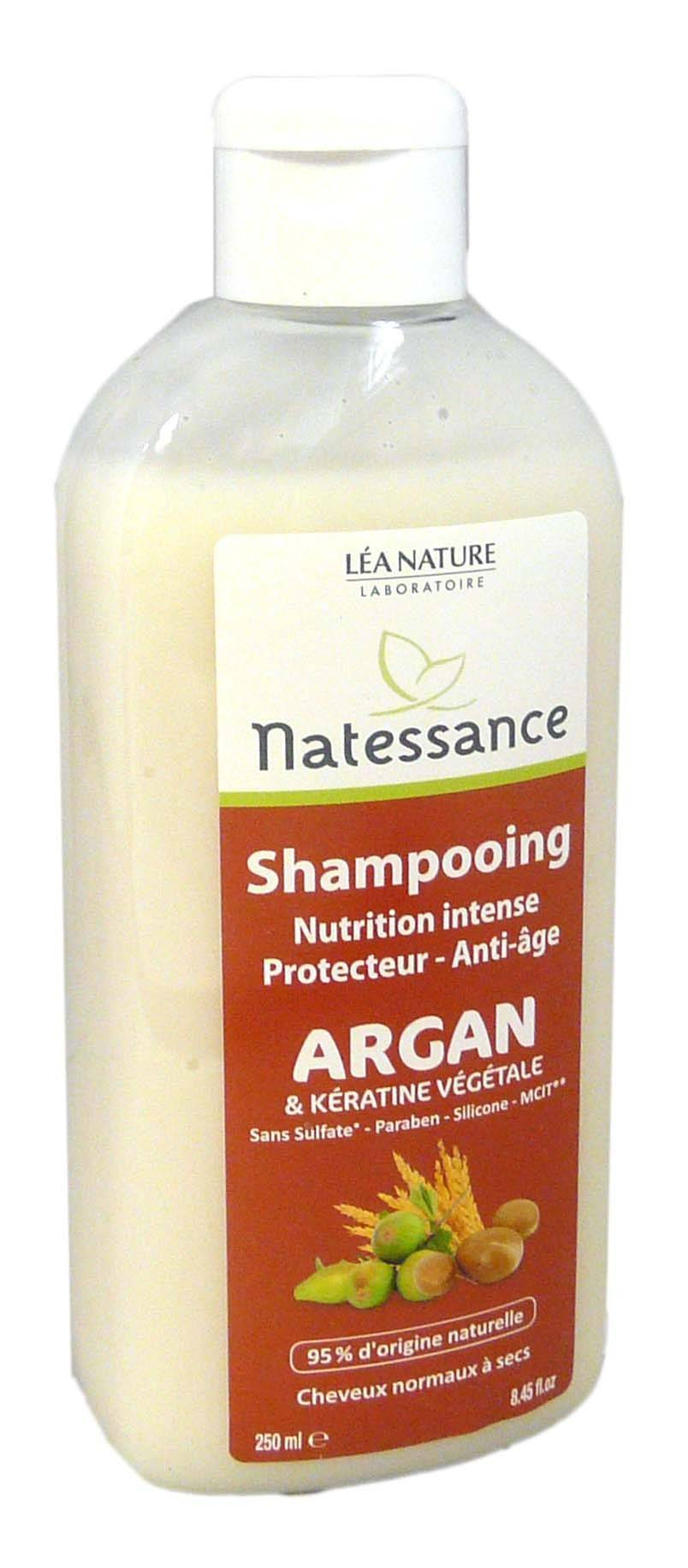 Natessance shampooing argan 250ml