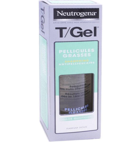 Neutrogena t/gel shampooing cheveux gras 250 ml