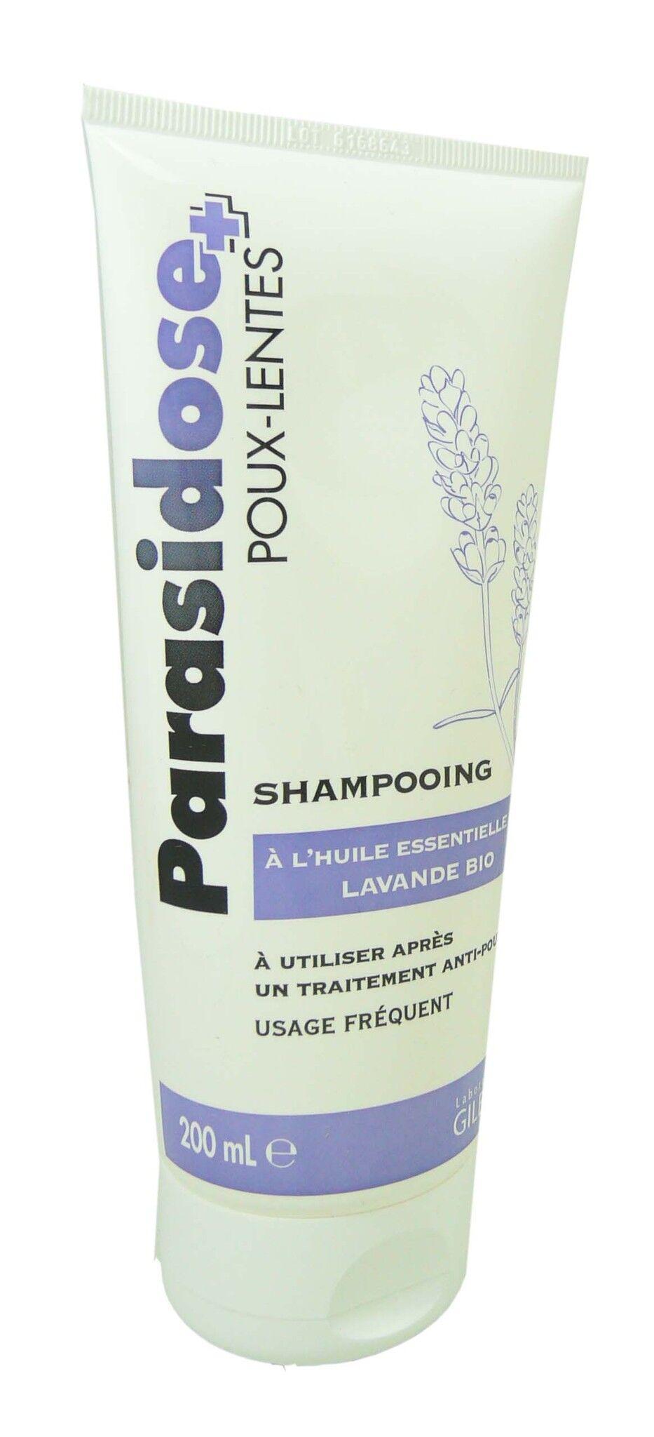 Gilbert parasidose shampooing huile essentielle lavande bio