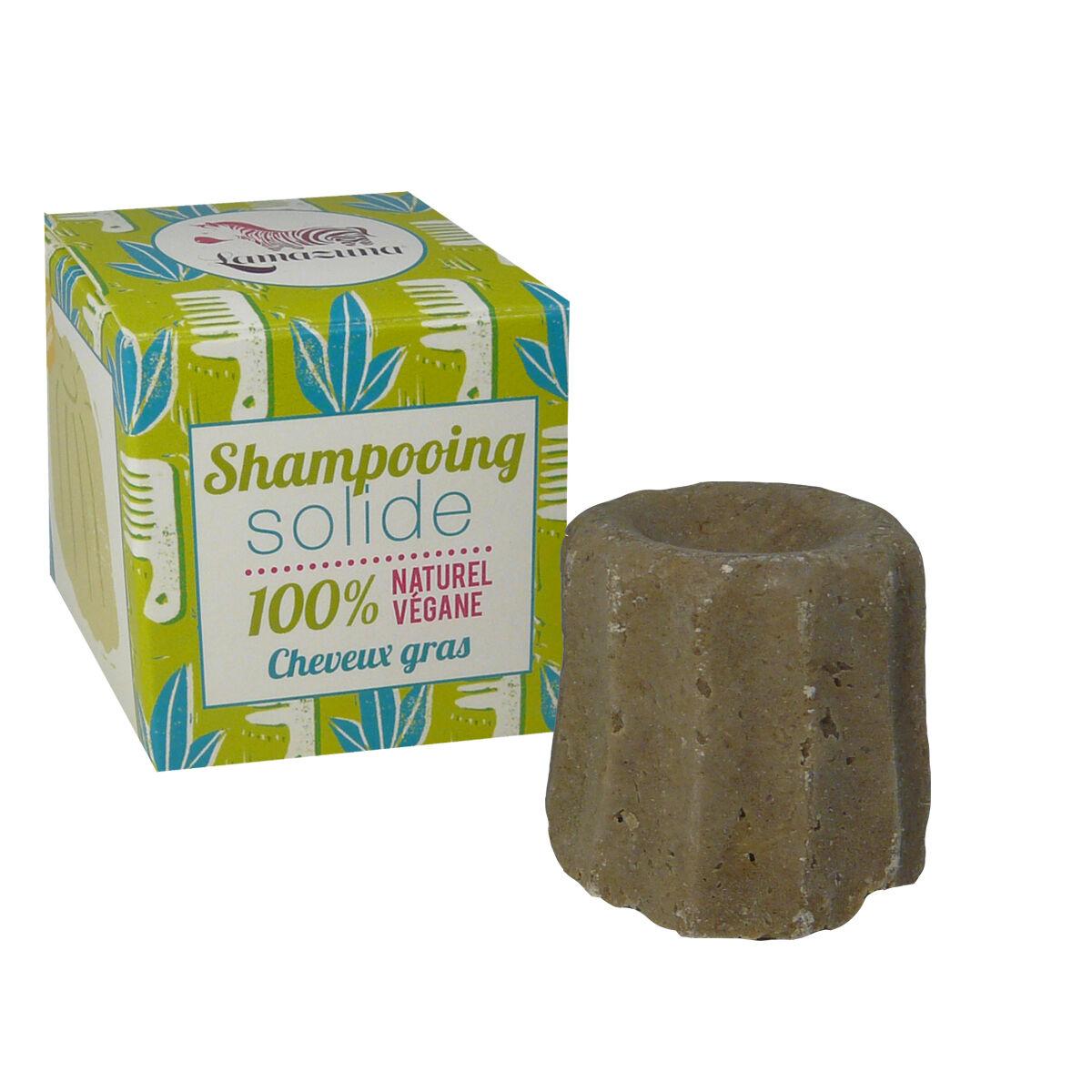Lamazuna shampooing solide 100 % cheveux gras 55 g