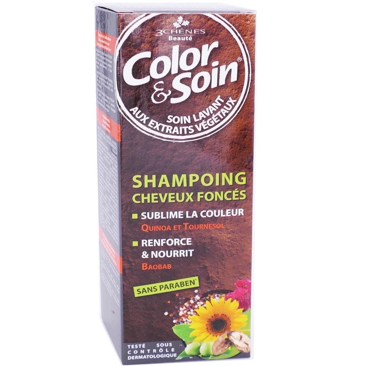 LES 3 CHENES 3chenes shampoing quinoa tournesol 250ml