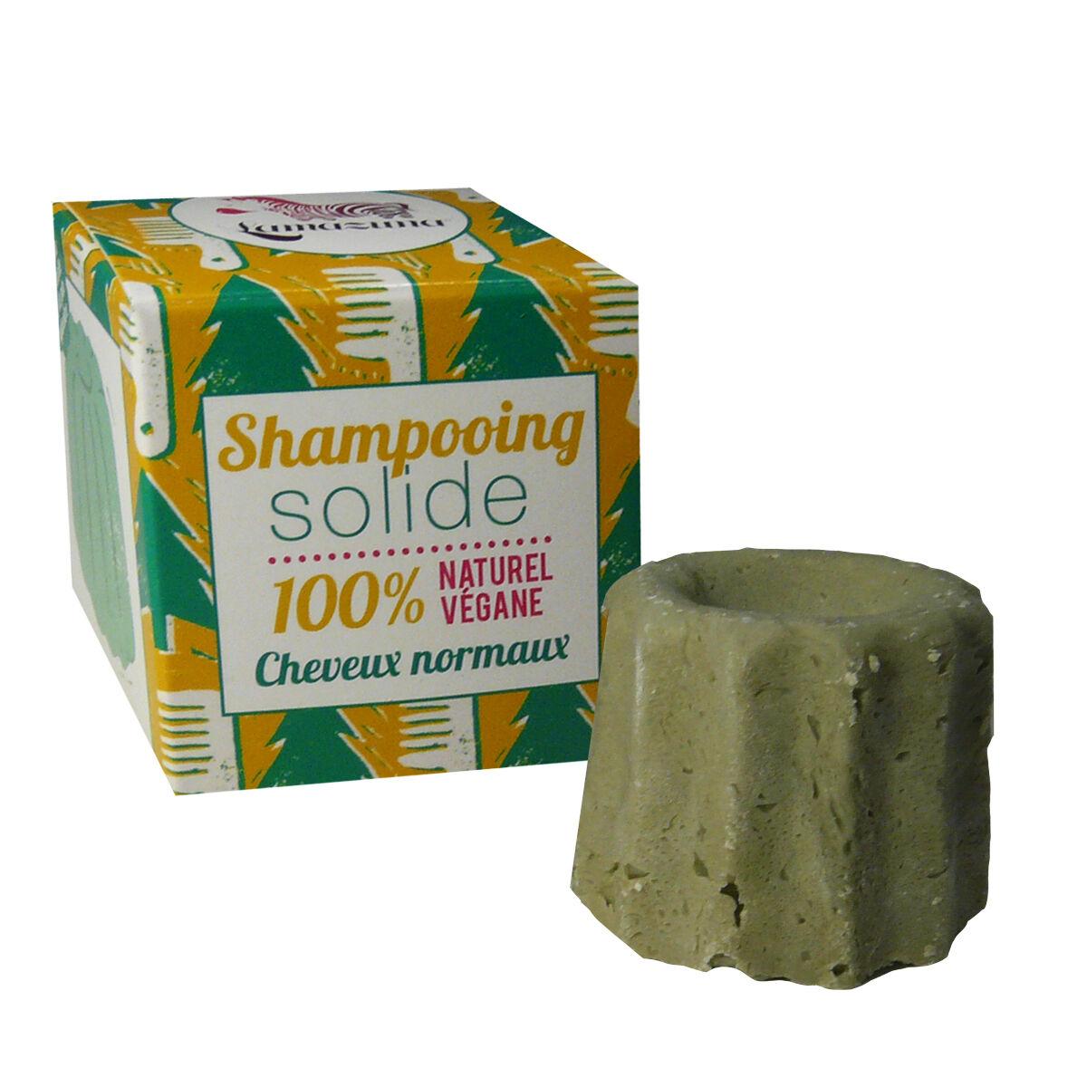 Lamazuna shampooing solide 100% cheveux normaux vegane 55 g