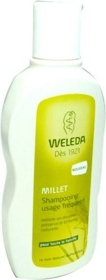 Weleda millet shampooing usage frequent 190ml