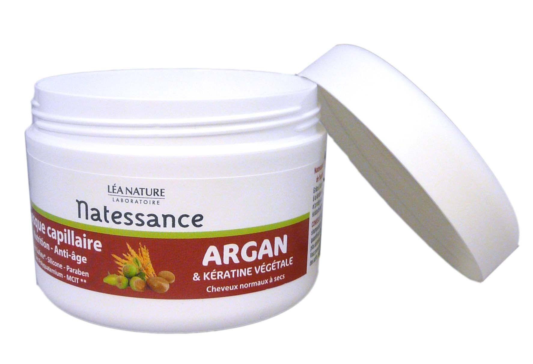 Natessance masque capillaire argan 200ml
