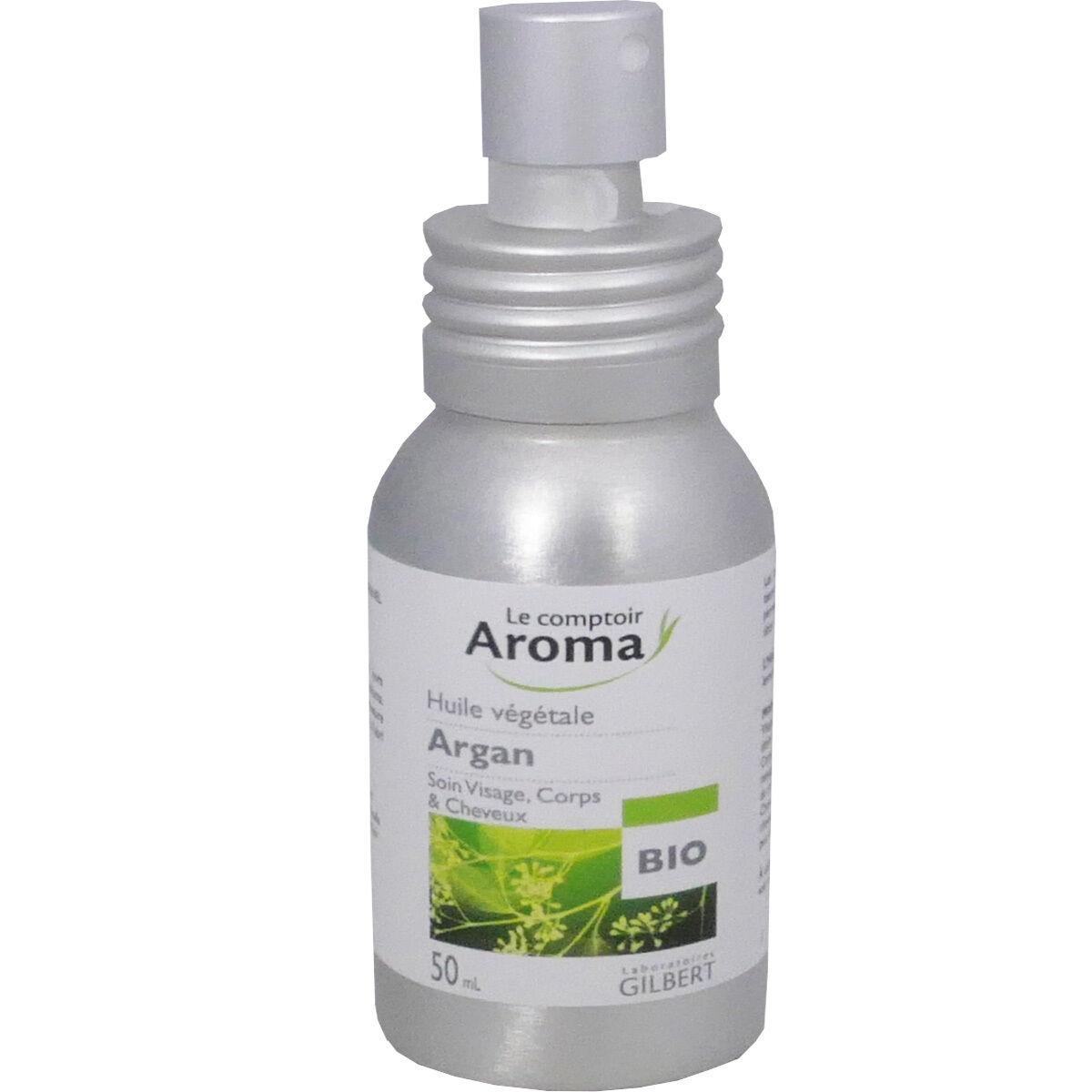 Le comptoir aroma huile vegetale argan 50 ml