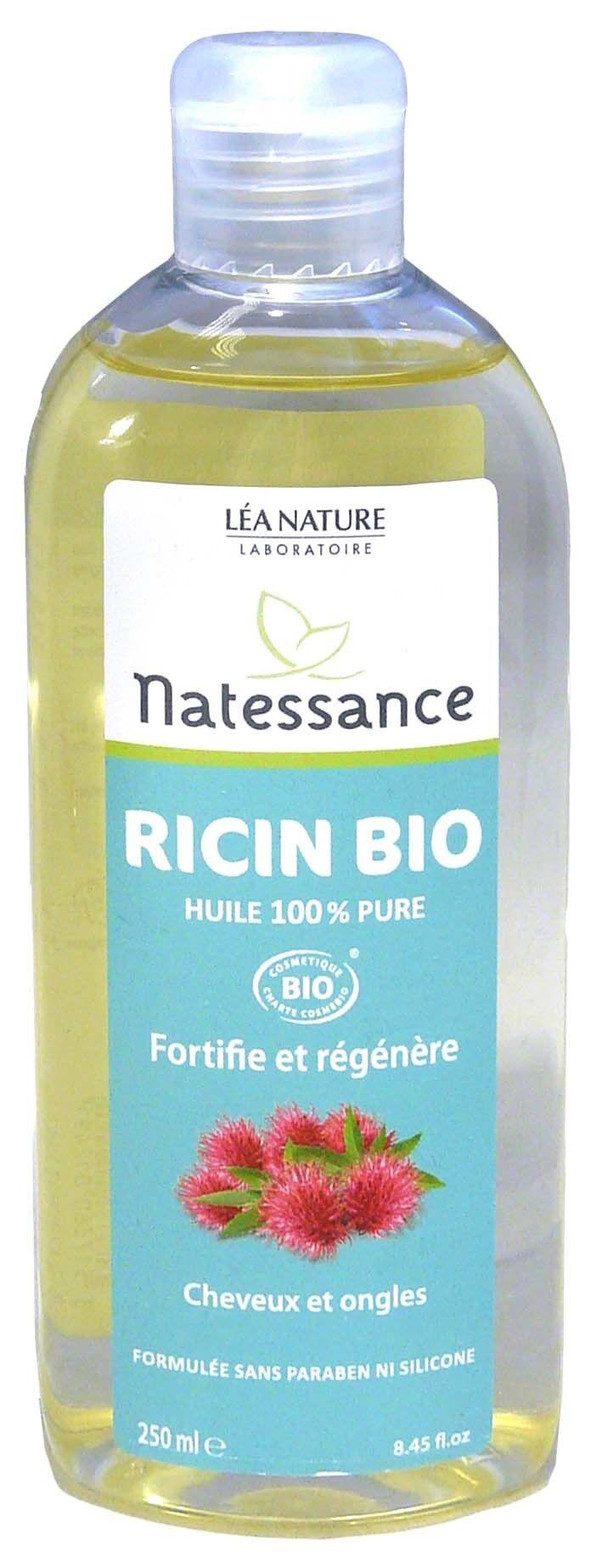Natessance huile de ricin bio 250ml